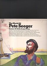 PETE SEEGER - the world of LP