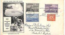 AZ361 1951 Canada Official Capex FDC *TORONTO ONTARIO* Cover{samwells}PTS