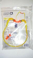 Howard Leight by Honeywell Banded Multi-Use Earplugs, Yellow Band/Orange Plug