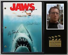 "JAWS LTD EDITION REPRODUCTION  MOVIE SCRIPT CINEMA DISPLAY ""C3"""