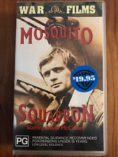 MOSQUITO SQUADRON DAVID MCCALLUM RARE ORIGINAL BRAND NEW PAL VHS VIDEO