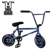 NEW Ride 858 MINI BMX BIKE  3pc Crank - Integrated Headset -BLUE SPLASH