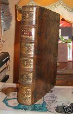 Jean MESLE Traité des Minorités, tutelles et curatelles 1785 Plein Cuir