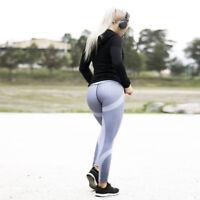 Damen Leggings Sport Stretch Joggingshose Fitness Yoga Tregging Training Hose