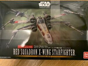 BANDAI STAR WARS RED SQUADRON  X-WING STARFIGHTER 1/72 1/144 MODEL SPECIAL SET