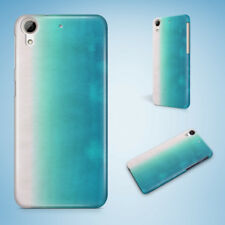 TEAL WATERCOLOR 35 HARD CASE COVER FOR HTC ONE M7 M8 M9 M9+