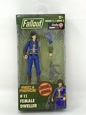 Fallout Mega Merge Female Vault Dweller Gamestop Ex Action Figure Series 2