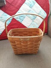 Longaberger 1992 Dresden Limited Edition Basket Signed