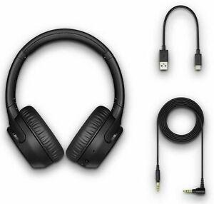 Sony WH-XB700/B Extra Bass Bluetooth Wireless Headphones WHXB700 Black