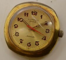 VINTAGE Men's Wittnauer Geneve Automatic Watch 11AE Hacking Second Hand Repair