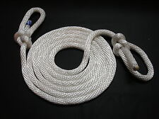 "17 foot General Purpose 1/2"" Sash Braid Nylon Tow Rope with 2 Bowline Knots"