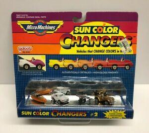 1988 Micro Machines SUN COLOR CHANGERS #2 no. 6440