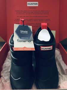 Hunter Original Insulated Snow Ankle Boots Black, Size UK5 EU38, BNWT