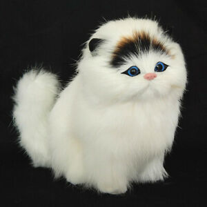 Pets Dolls Soft Ornaments Sound Simulation Cat Electronic Plush Toy Funny UK~~