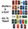 NEW *PICK YOUR TEAM* iPHONE 6 PLUS NFL PHONE CASE FOOTBALL HAT STOCKING STUFFER
