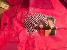 Camp Rock Rain Coat NWT Mitchie Shane Large Kid 5,6 Toddler Plastic 100% PVC Pin