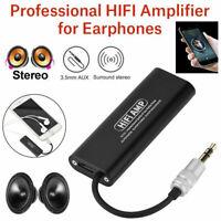 Portable 3,5 mm HI-FI Amplificateur Casque Écouteur Stéréo AMP pour