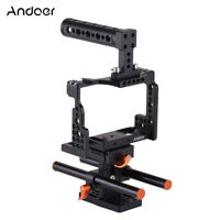Video Camera Cage Kit Rig Stabilizer for Sony A7II/A7III/A7SII/A7M3/A7RII/A7RIII
