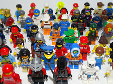 Lego Minifigures /  Figures x 10 with Hats or Hair OVER 500 SOLD! GOOD CONDITION
