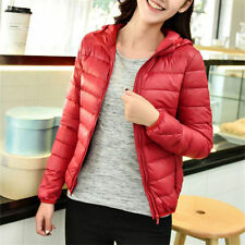 Women's Solid Down Basic Coats & Jackets
