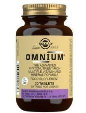Solgar Omnium Advanced Phytonutrient Rich Multiple Vitamin & Mineral 30 Tabs