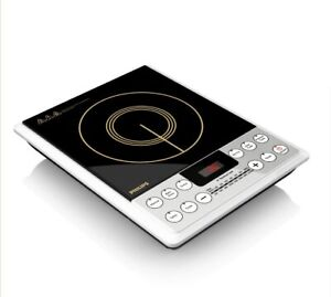 2100-Watt Induction Cooktop With 8 Power Levels From Philips (230 V) (HD4929)