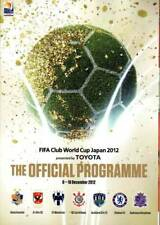 2012 Fifa Club World Cup Program incl. Chelsea, Corinthians