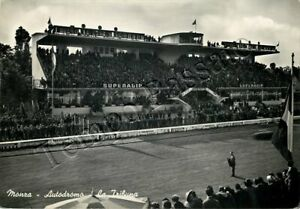 Cartolina di Monza, autodromo (tribuna) - 1952