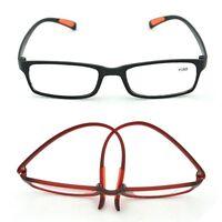 Fashion Reading Glasses TR90 Frame Reader Eyeglass +1.00 1.5 2.0 2.5 3.0 3.5 4.0