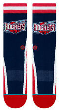 Houston Rockets Stance NBA Hardwood Classics Warmup Crew Socks Large Men's 9-12
