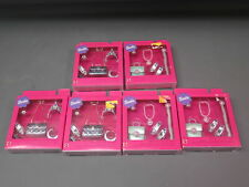 Lot 6 Vintage 1999 Mattel Barbie Special Collection Glamour Mode Accessories NIB