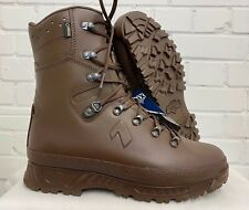 HAIX BROWN COLD WET WEATHER GORE-TEX BOOTS - 10 Medium , British Army NEW