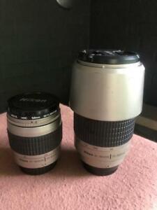 2x Nikon AF 28-80mm f/1:3.3-5.6G Lens + 70-300mm f/1:4-5.6G Zoom Kit