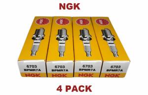 4 NGK BPMR7A Spark Plug Fit Stihl Husqvarna Echo Chainsaws Blowers Trimmers 6703