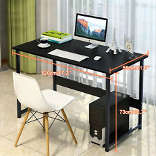 Computer Desk Gaming PC Laptop Study Home Office WoodTable Workstation Furniture