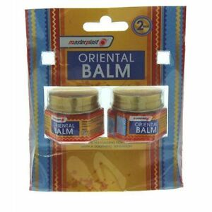 2Pk Oriental Balm Muscle Sore Soothing Pain Relief Cream 18g each