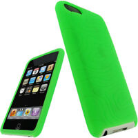 Green Silicone Case for iPod Touch 2nd 3rd Generation 2G 3G iTouch Skin Cover