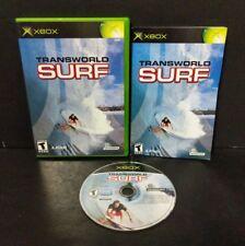 TransWorld Surf (Microsoft Xbox, 2001) Complete