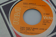 Eddy Arnold: They Don't Make Love ... / What a Wonderful World [Unplayed Copy]