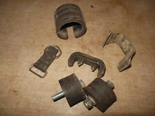 91 Suzuki RM125 RM 125 gas fuel tank cdi strap rubber mounts chain rollers lot
