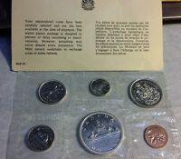 Canada 1965 Proof-Like Set - Royal Canadian Mint Silver Dollar, 1/2, 1/4 10c