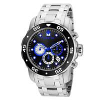 Invicta 24848 Men's Pro Diver Black Dial Chronograph Dive Watch