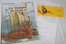 VOYAGES D'ALIX LA MARINE ANTIQUE T1 HENNIQUIAU JACQUES MARTIN ORIX 1997