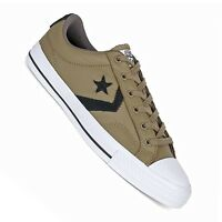Converse Star Player Leather Ox grün - Herren Sneaker im Retro Look