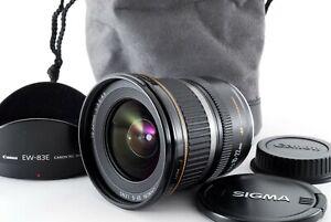 Canon EF-S 10-22mm F/3.5-4.5 USM Wide Angle [Exc w/EW-83E Hood,Case [Y068]