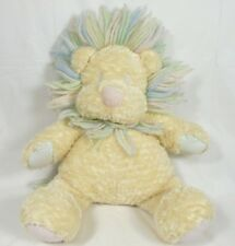 Snagglepuss Lion Light Yellow Gender Neutral Baby Plush Toy Yarn Mane