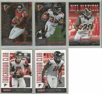Atlanta Falcons 5 card 2013 Rookies & Stars insert & parallel lot-all different