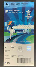 2010 Vancouver Olympic Winter Games Opening Ceremony Ticket