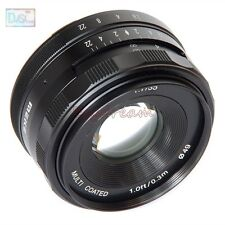 35mm F1.7 APS-C Manual Lens for Canon EF-M Mount EOS M M2 M3 M10