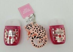 New Bath Body Works Pocket Holder Pink Leopard Cheetah Lights Up Strawberry Scen